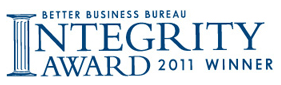 2011 Integrity Award Winner - BBB