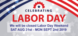 Have a happy & Safe Labor Day