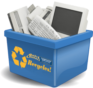 Recycle your computer with Quick Connect Computer Services