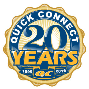 Quickconnect 20 Years of Service!
