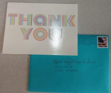 Thank you card from Good Life Family Chiropractic